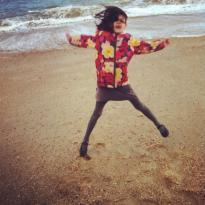 ana jumping